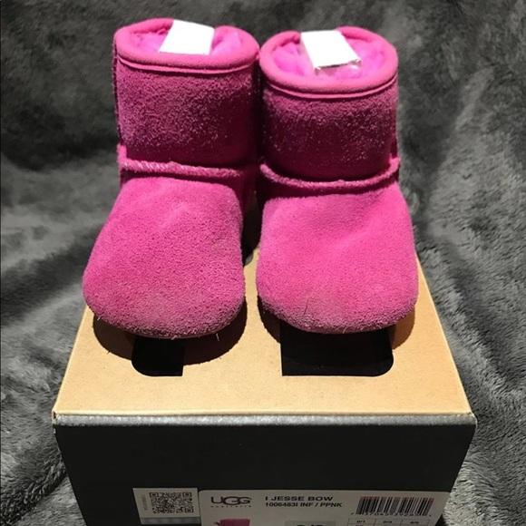 ugg australia pink boots